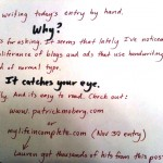 Is Handwriting Better Than Type?