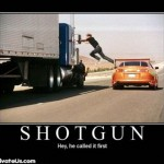 The Rules of Calling Shotgun
