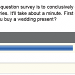 The Great Wedding Gift Debate Survey Results