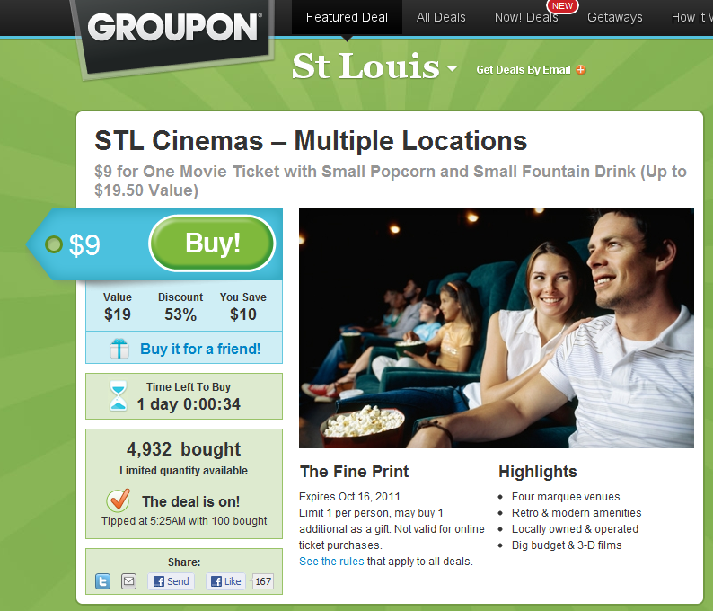 St louis coupons discounts