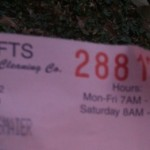 My Greatest Fear #23: Losing My Dry Cleaning Ticket