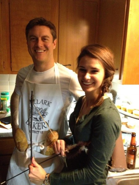 Peeta and Katniss 2012