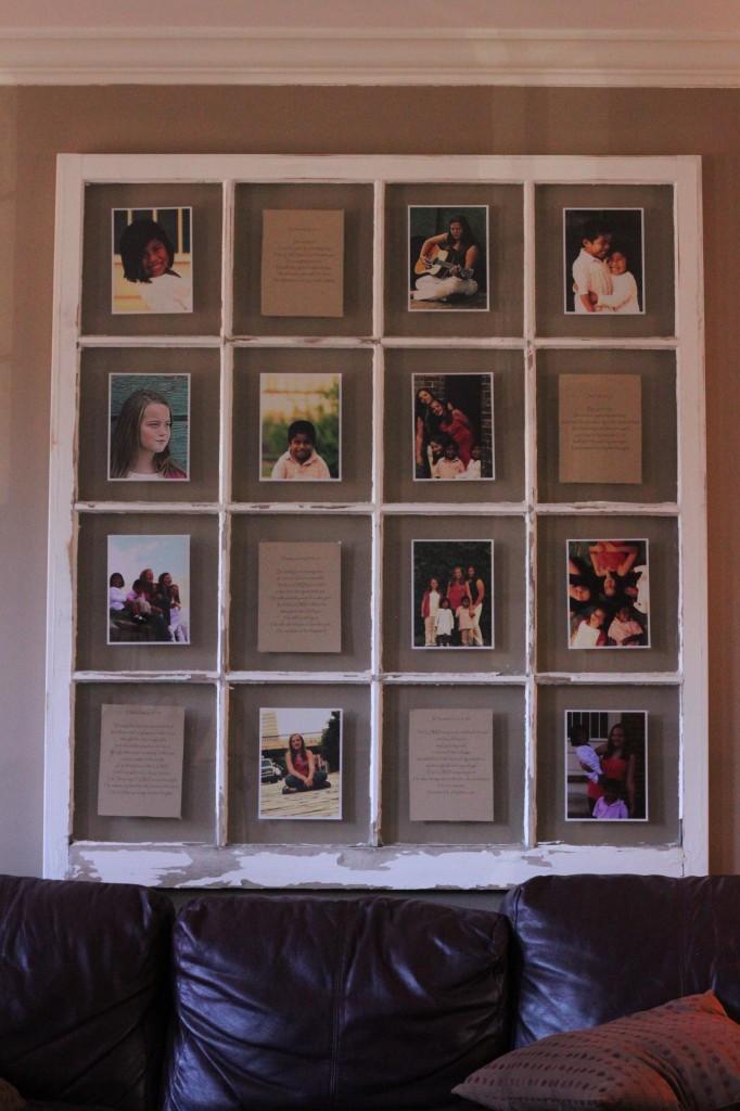 Ansley K Window Frame