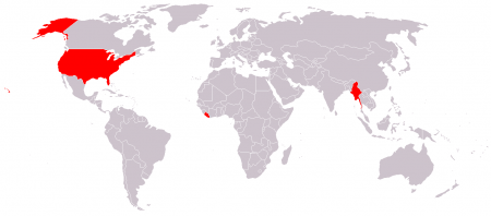 These are the countries that don't use the metric system. Seriously.