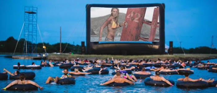 Would you watch jaws in the water on an inner tube photo credit to slashfilm fandeluxe Ebook collections