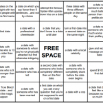Online Dating Bingo