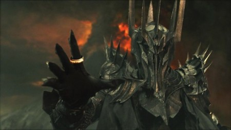 When he's not destroying Middle Earth, Sauron builds computers.