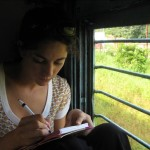 Want to Write? Take a Train