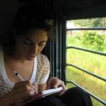 Want to Write? Take a Train