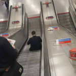 Do You Stand Still on the Escalator?